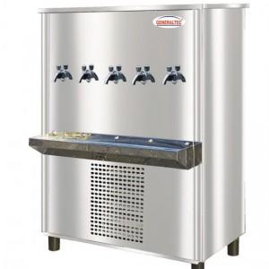 Water Cooler, Model No.GC160T5 (5 Tap Floor Standing Stainless Steel)
