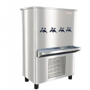 Water Cooler, Model No.GC90T4(4 Tap Floor Standing Stainless Steel)