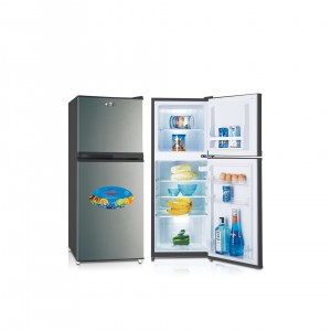 Refrigerator Double Door Model No. GR190SSB