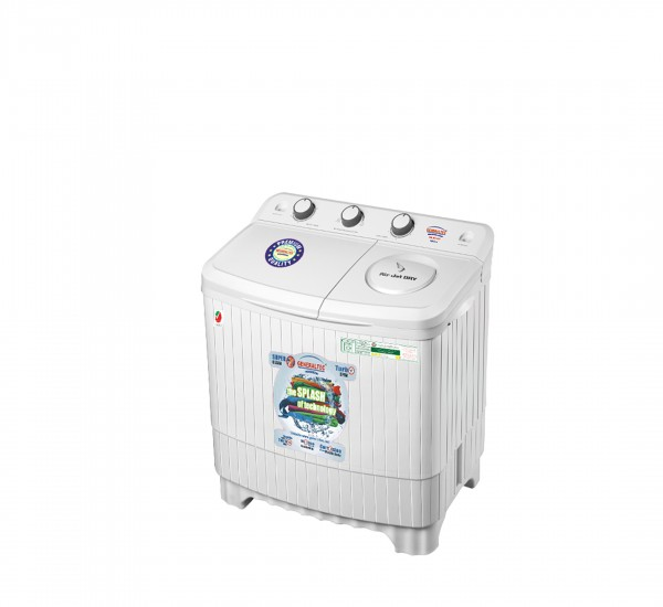 Washing Machine, Model No.GW750K (Top Load Semi-Automatic Wash/Dry)