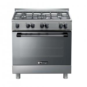 Tecnogas 90 X 60 Cm 5 Burners Gas Cooker, Steel – P3X85G5VE