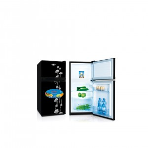 Refrigerator Double Door Model No. GR120DD BGLASS