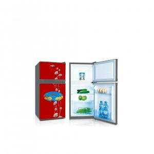 Refrigerator Double Door Model No. GR120DDMGLASS