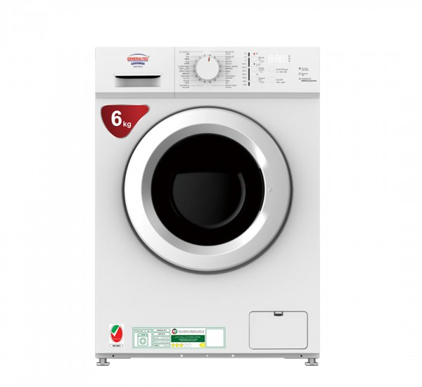 Washing Machine, Model No.GWF-6R10 (Front Load , Automatic, 6KG Capacity)