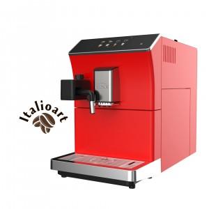 Generaltec Fully Automatic Coffee Machine Model No. GCM5000TC (Red)