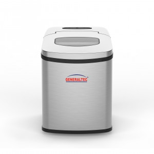 Generaltec Portable Automatic Stainless Steel Ice Maker , Model No. GICM14SS