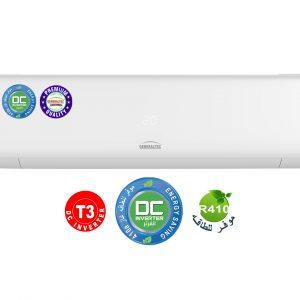 Generaltec Inverter Type Split Air Conditioner 3 TON Model No. GSIAC39-INV (Rotary Type Compressor)